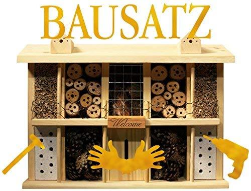 Luxus-Insektenhotels 22640e Bausatz Landsitz Superior einfaches Dübel-Stecksystem