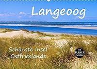 Langeoog - Schoenste Insel Ostfrieslands (Wandkalender 2022 DIN A2 quer): Impressionen der Nordseeinsel Langeoog (Geburtstagskalender, 14 Seiten )