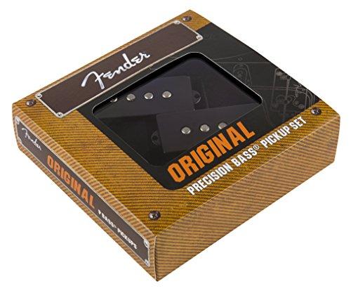 Fender 099-2046-000 Pastilla de Bajo de Precisión Original - Negro Original Vintage