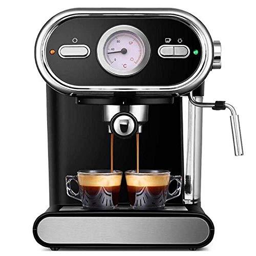 LKOER Máquina de café Máquina de café Italiana Visualización domiciliaria semiautomática Control de Temperatura Completa Bomba de café Máquina de café Espra jinyang