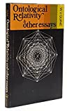 Ontological Relativity,: And Other Essays, (East Central European Studies of Columbia University)