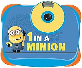 LEXIBOOK DJ136DES Despicable Minions-Cámara de Fotos Digital 5 De MP con Función Vídeo Y Webcam a Partir de 4 años Color Azul
