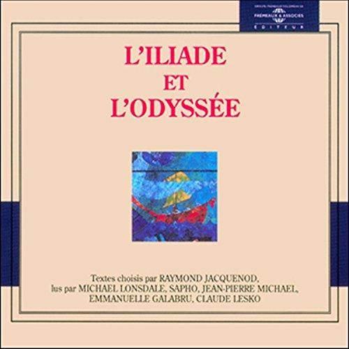 L'Iliade et l'Odyssée audiobook cover art