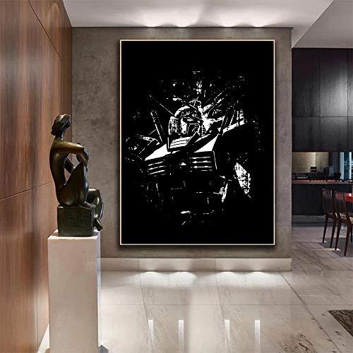 ガンダム壁紙絵装飾アートワークファインアートプリントリビングルーム装飾壁画