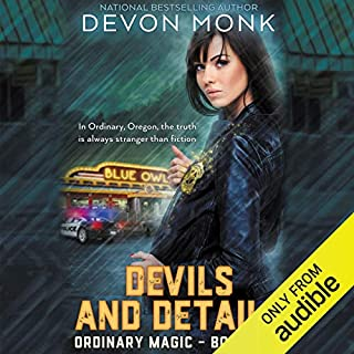 Devils and Details audiobook cover art