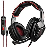Sades SA920 Wired Stereo Gaming Headset Over Ear Headphones with Microphone for New