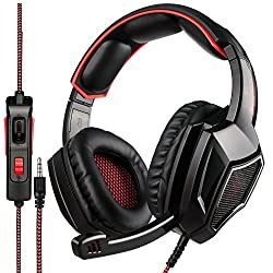 in budget affordable SADES SA920PLUS PS4, PC, stereo headset for Xbox One controller, in-ear noise suppression …