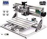 3 Axis Desktop DIY Mini CNC 3018 Router Kit GRBL Control Plastic Acrylic PCB PVC Wood Carving Milling Engraving Machine Working Area 30x18x4.5cm