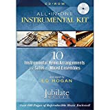 All-In-One Instrumental Kit: 10 Instrumental Hymn Arrangements for Solos to Mixed Ensembles, CD-ROM; Conductor Score & Parts (Jubilate Music)