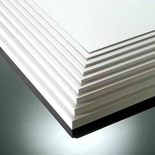 5 mm blanco mate PVC espuma hoja A3 420 mm x 297 mm - PVC Foamex espuma hoja tablero de la muestra