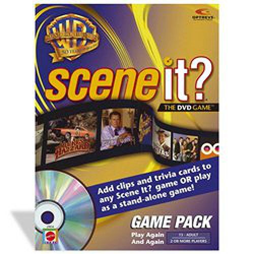 Scene It. Warner Brothers 50th Anniversary Game Pack