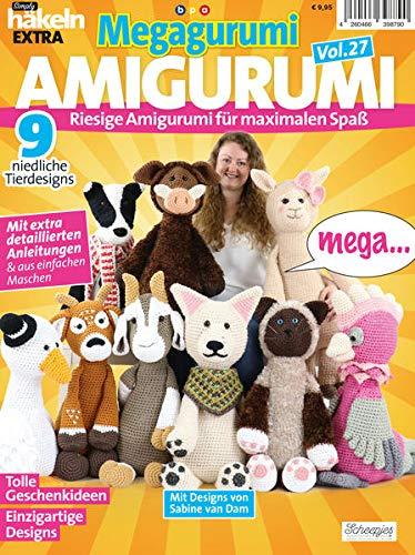 Simply Häkeln EXTRA: Megagurumi! AMIGURUMI Vol. 27 - Riesige Amigurumi für maximalen Spaß
