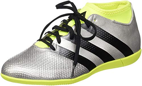 adidas Ace 16.3 Primemesh IN, Botas de fútbol para Hombre, Plateado (Plamet/Negbas/Amasol), 46 2/3 EU