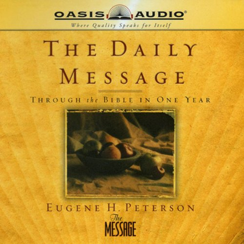 The Daily Message audiobook cover art