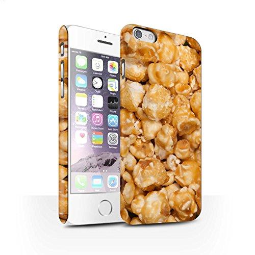 Stuff4 Carcasa/Funda Broche de Presión en para el Apple iPhone 6 / Serie: Aperitivos - Palomitas Butterkist