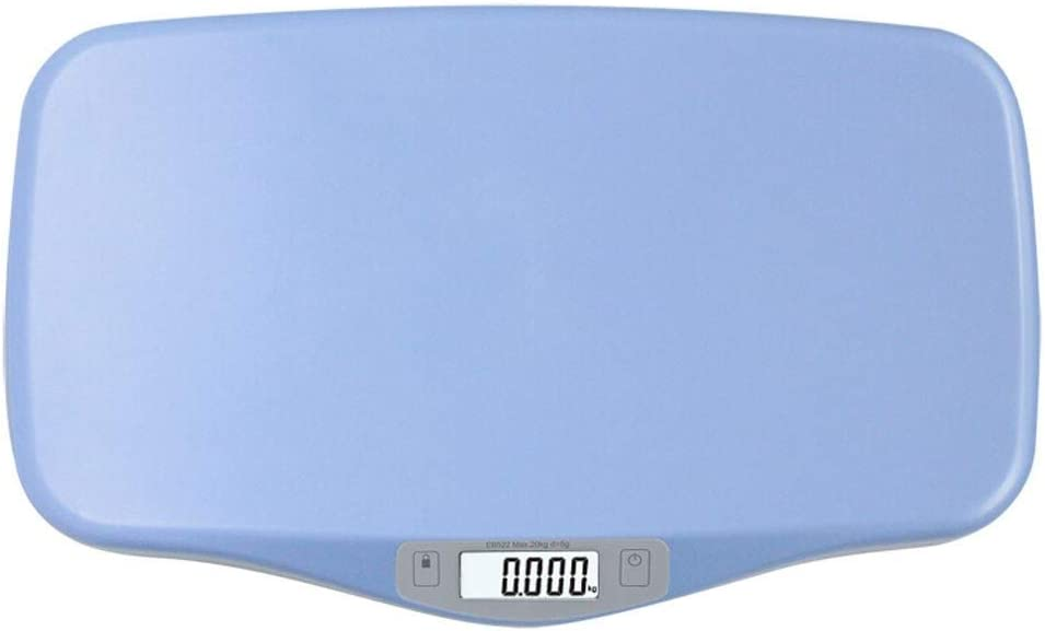 Color : Blue RJJX Home Electronic Scale Family Adult Health Weighing Multi-Function High Precision ABS Plastic LCD Display Weight Scale