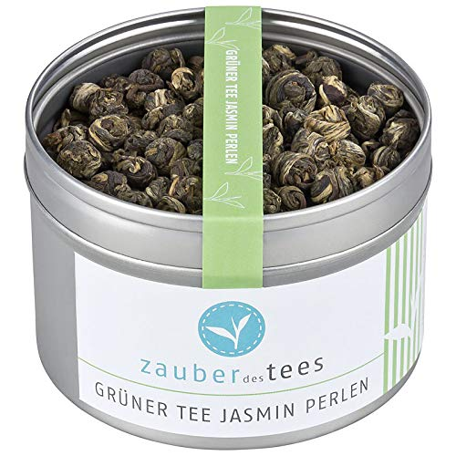 Zauber des Tees Grüner Tee Jasmin Perlen, 90g
