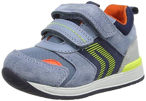 Geox Baby-Jungen B RISHON Boy B First Walker Shoe, DK Sky/Navy, 26 EU