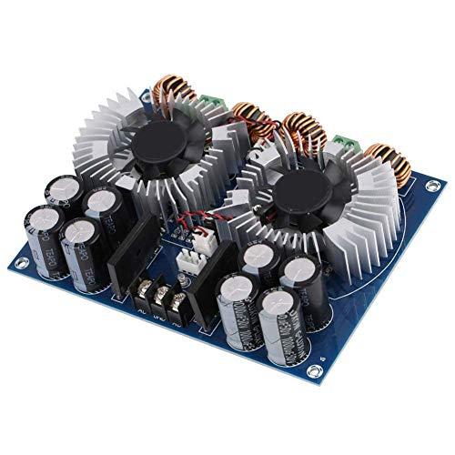 ARCELI Tablero de Amplificador de Audio XH-M254 TDA8954TH 2 × 420 W Dual Core Tablero de Amplificador de Audio Digital de 2 Canales con Ventilador para proyectos de Bricolaje