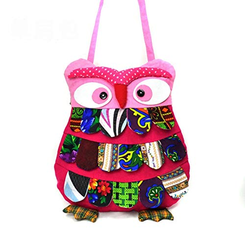 N\C One-shoulder Messenger Bag Animal Bag Children's Small Satchel Characteristic Ethnic Cartoon Craft Bag