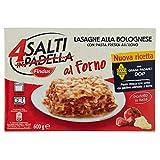 4 Salti in Padella al Forno Findus - Lasagne alla Bolognese con Pasta Fresca all'Uovo, 600g