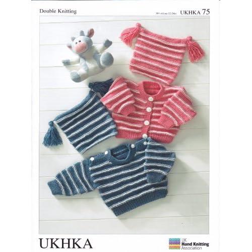 1ffb300e8928 Baby Jumper Knitting Patterns  Amazon.co.uk
