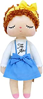 HYL MeToo Plush Sleeping Baby Girl Doll Gifts Soft First Doll Toy for Babies Kids Toddlers,Dress Girl