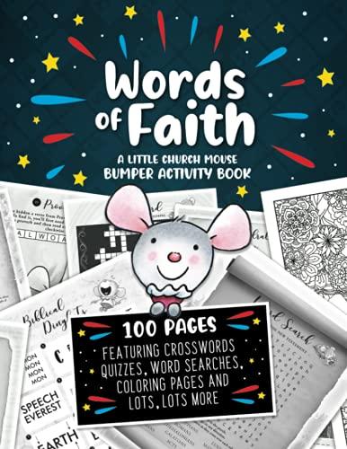 Words Of Faith - The Little Church Mouse Bumper Activity B