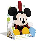 Mickey Mouse- Disney Peluche con mordedor (Clementoni Spain 65408.6)