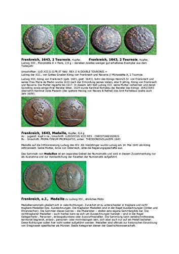Kalenderblatt zum Jahr 1643: Zum Sammeln von Medaillen (Französische Münzen und Medaillen des Jahres 1643)