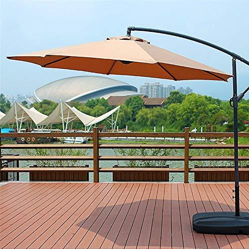 BouBou 100X195X160Cm Sombrilla Impermeable Parasol De Playa Paño De Tela Parasol Parasol Cubierta De Tienda - Verde Oscuro