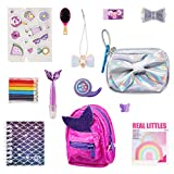 REAL LITTLES - Collectible Micro Backpack and Micro Handbag with 12 Micro Working Surprises Inside!, Multicolor (25324)