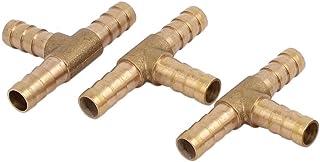 T 3 tuyau cuivre fa/çon Tube Tuyau raccord tuyau 3pcs sourcing map 8mm Dia