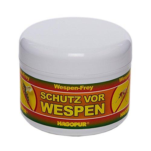 Wespen-Frey - Hagopur Schutz vor Wespen Duftmasse gegen Mücken Wespen Schnaken, 200g