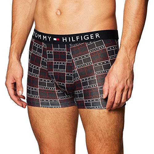 Tommy Hilfiger Herren Unterhose Boxershort Trunk Print Gr. L Bunt UM0UM01831-0H9
