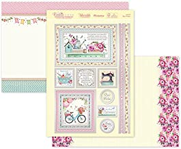 HunkyDory Crafts Window to the Heart - Love & Best Wishes - Topper Set Card Kit SSW903