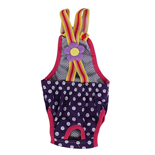 Fdit Puppy Dog Diapers Physiological Pants (M) (Be Careful, The Size May be not so Accurate)