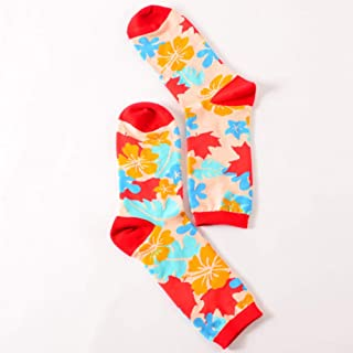 calcetín Hombres Happy Socks Bright Crazy Color Pingpong Cartoon Men Cotton Crew Art Funny Creative Happy Socks Male Harajuku Hipster Sox