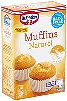 Dr.Oetker Muffins naturel met vormpjes - bakmix voor 12 muffins (350 g)