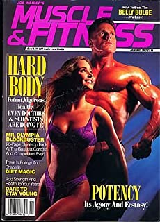 Muscle & Fitness Magazine - Potency It's Agony & Ecstasy - Hard Body - Mr. Olympia - Dare to Stay Young (January, 1992)