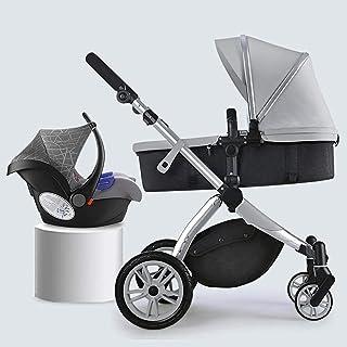 3-i-1-barnvagn Barnvagn , Anti-chock Lätt barnvagn , Kompakt Buggy Barnvagnar , Barnvagn Barnvagn S Stor sittplats , Extra...