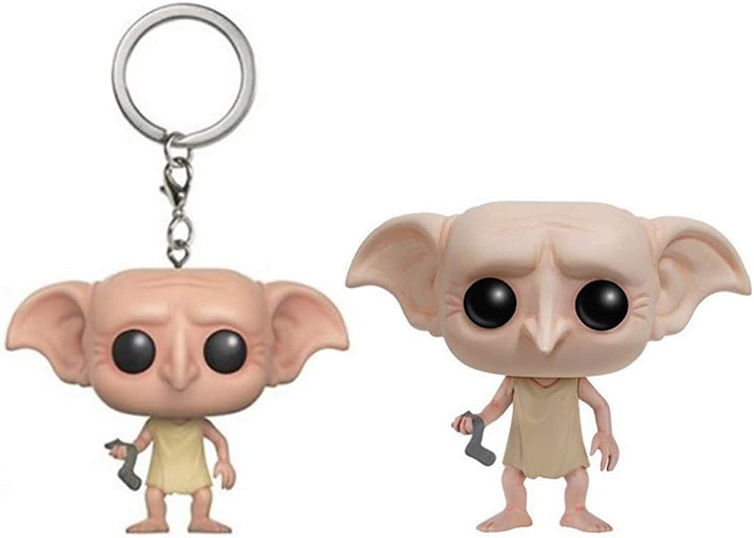 POP Model  Movie Character Model (2 Pieces) House Elf Character Model Keychain