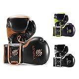 Sanabul Guantes De Boxeo Esenciales Cobre 12 Onzas