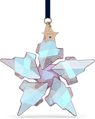 SWAROVSKI Christmas Ornament, Annual Limited Edition 2021, 30th Anniversary, Blue Crystal