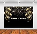 Ballon-Geburtstags-Kulisse für Party-Fotografie, Happy Birthday, Hintergr&dekorationen, Studio-Hintergr&, 2,8 x 1,5 m Banner