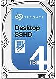 Seagate ST4000DX001/Promo Desktop SSHD con 8GB MLC NAND 4TB (8,9cm (3,5Pulgadas), SATA III, 6GB/s, 5400RPM, 64MB de caché, 26,1mm de Altura), Color Azul