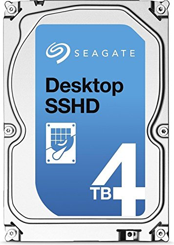 Seagate ST4000DX001/PROMO Desktop SSHD mit 8GB MLC NAND 4TB (8,9 cm (3,5 Zoll), SATA III, 6Gb/s, 5400rpm, 64MB Cache, 26,1 mm Höhe) blau