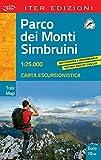 Parco dei Monti Simbruini. Carta escursionistica 1:25.000 (Trek map)