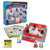 ThinkFun Laser Maze Junior (Class 1 Laser) Logic Game and STEM Toy - Award Winning Game for Kids