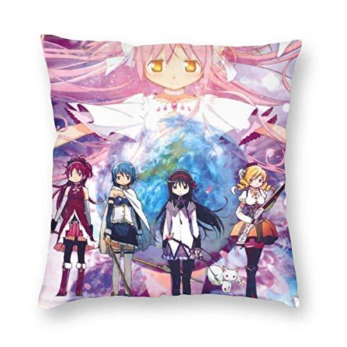KDRW Mahou Shoujo Madoka Magica Sofa Soft Pillowcases 24'x24'